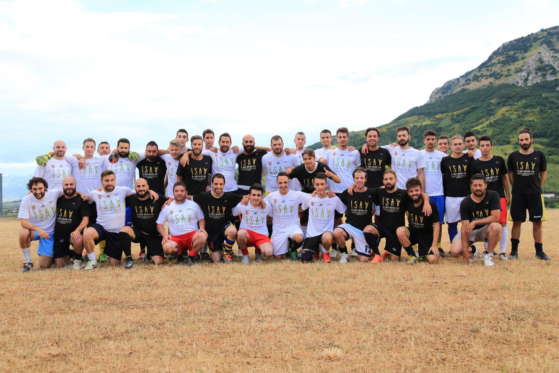 Partita di beneficenza ISAV a sostegno malati SLA Abruzzo