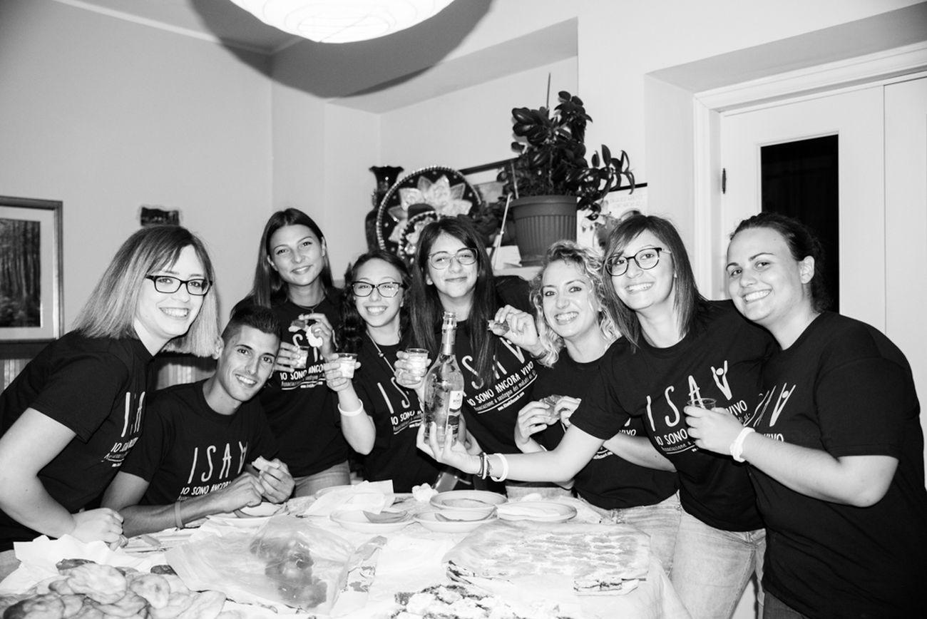 Volontari associazione Onlus ISAV malati SLA Abruzzo