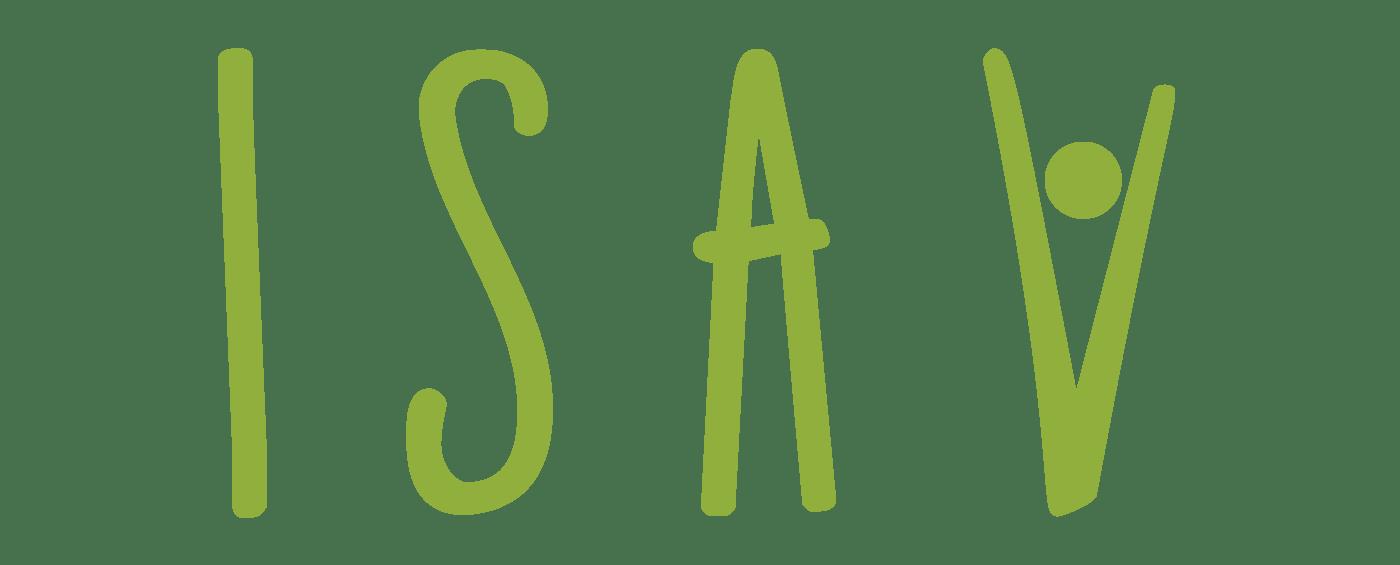 Logo grande isav associazione Onlus malati SLA Pescara