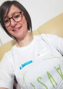 Luisa D'Andrea volontaria ISAV