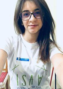 Marica Mantini volontaria ISAV