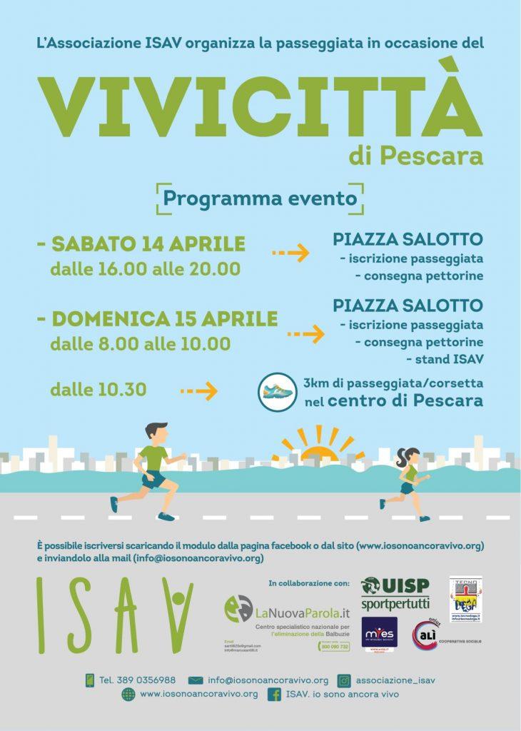 Programma Vivicittà Pescara